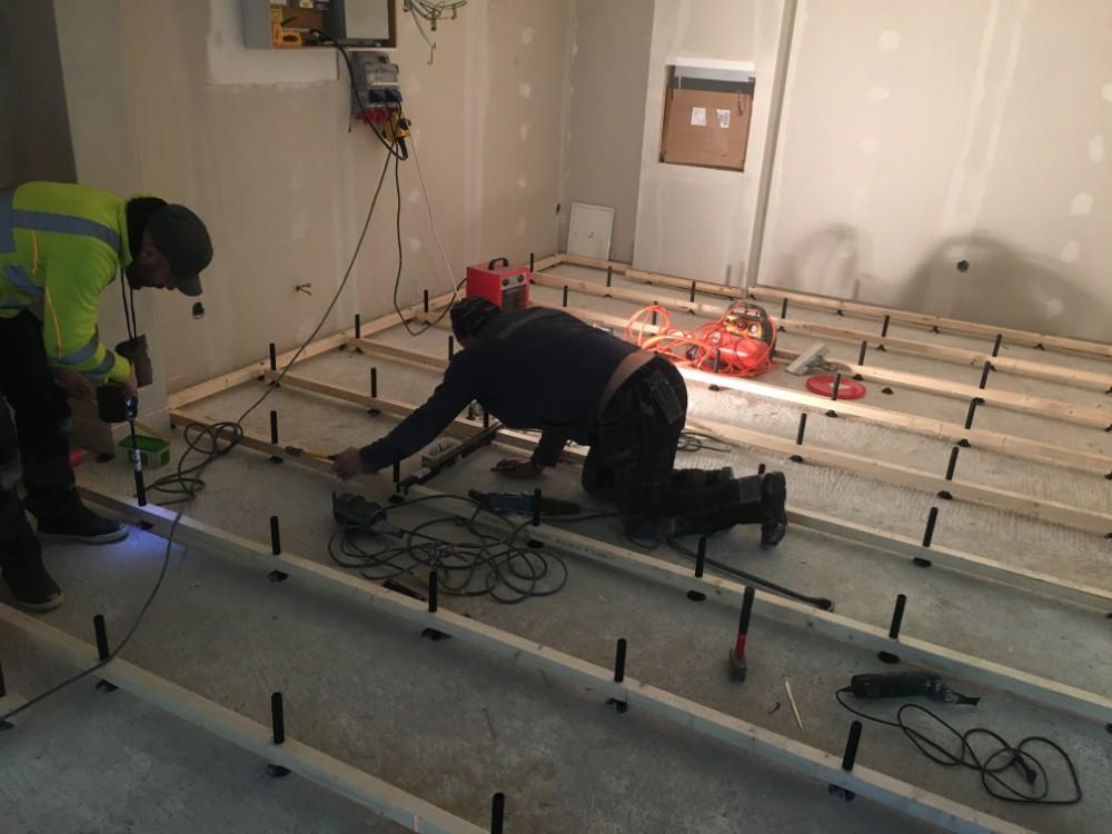 Renovering av källare